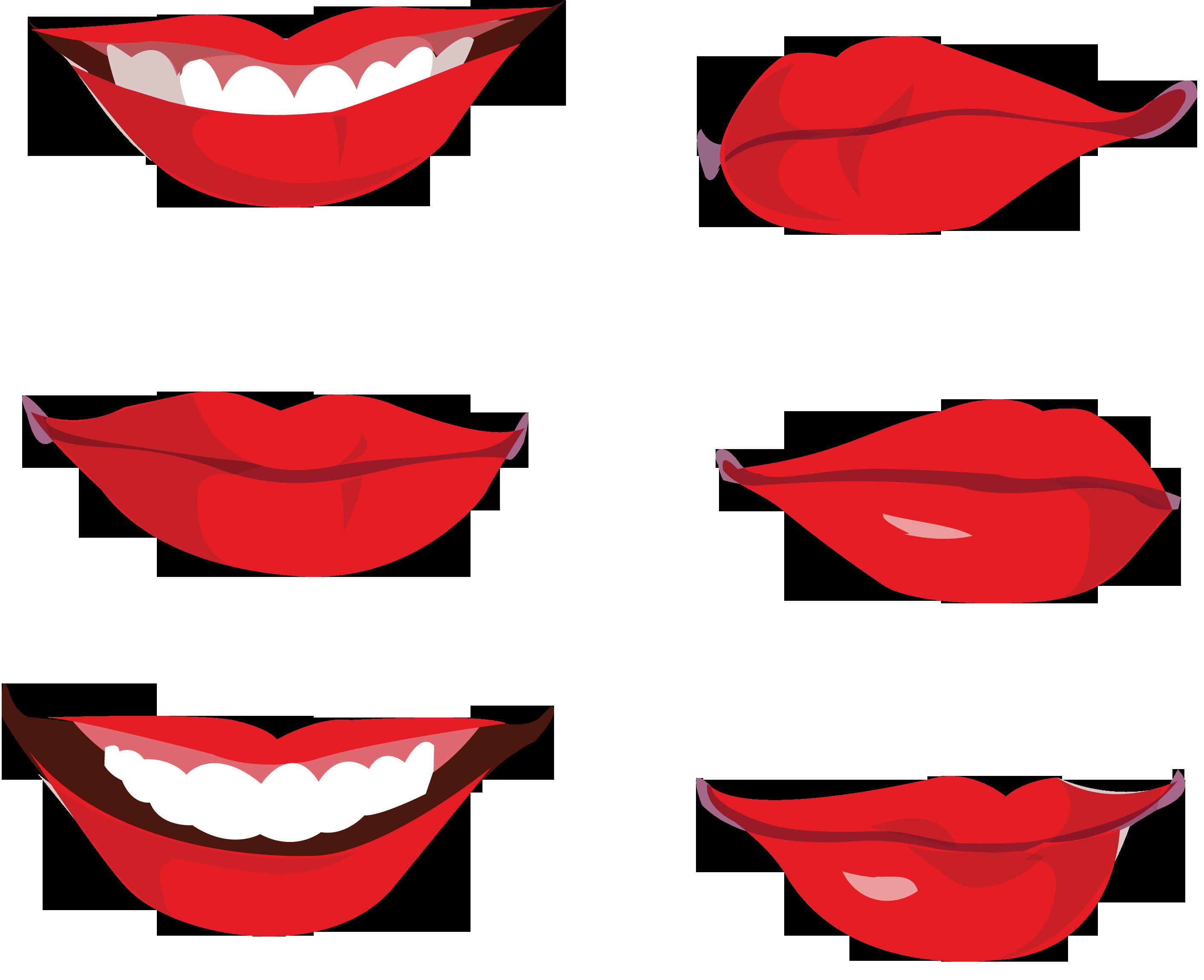 губы улыбка картинки